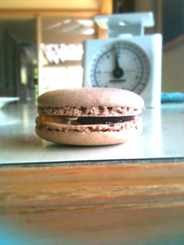 Snickers Macarons | whiskitforabiscuit