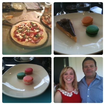 Pizza making class, High Tea with Zumbo, myself with Gary Mehigan